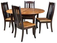 Solid Wood Dining Set with 3 chair Falls Church, 22041
