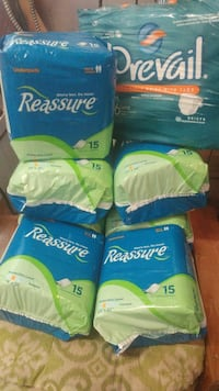 Incontinence pads and briefs NEW UNOPENED