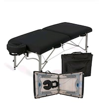 Massage table and trolley travel table carrier