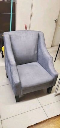 Nice gray accent chair