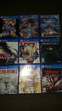PS4 games 9 in all.