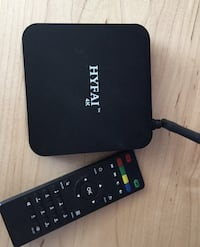 Barely used android box. Remote & Cables. London, N6G 3L4