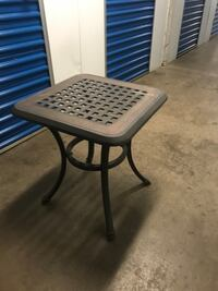 Small patio table