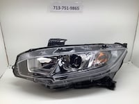 2016-2019 Honda Civic left headlight