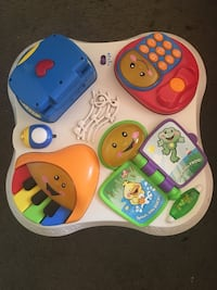 white and multicolored activity table Carlsbad, 92008