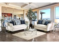 Sofa + Love Seat 2PC Set La Habra, 90631