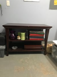 REDUCE PRICE - OBO Pottery Barn tv stand with shelves Haymarket, 20169