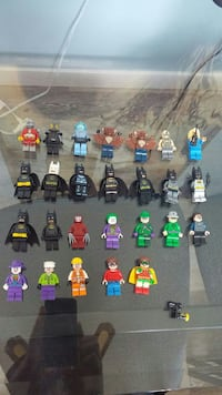 assorted LEGO minifig character lot Winnipeg, R2H 2Z8