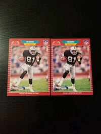 Tim Brown Rookie Lot - Free Shipping