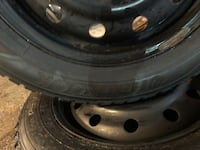 Set of 4 rims and tires (winter tires) Toronto, M8V 2V7