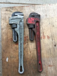 Pipe wrenches   Red Deer, T4P 1N6