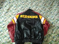Men's leather Redskins jacket 28 mi