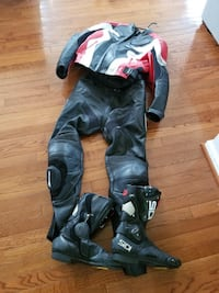 Motorcycle outfit Bristow, 20136