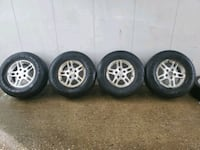 4 16 in 5x114.3 wheels rims and tires Silver Spring, 20901