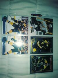 five assorted hockey player trading cards Lake Worth, 33460