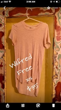 women's brown scoop-neck shirt North Vancouver, V7L 1E9