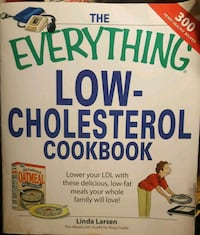 Everything low cholesterol cookbook Colton, 92324