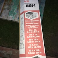 white and red FB109-A product cardboard box Welland, L3C 5T9