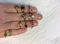 10kt  gold rings $60.00 each today only must pick up by 630pm Manassas Park, 20111