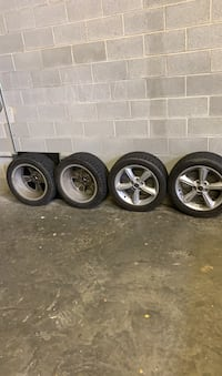 Tires from 2011 GT MUSTANG