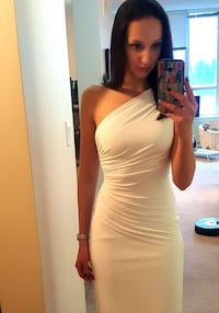 Long ivory Dress XS  Vancouver, V6E