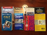 Travel Books: Italy, Tuscany, Florence... Bryans Road, 20616