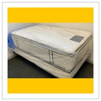 16 in. thick Double sided pillowtop Twin Mattress West Mifflin