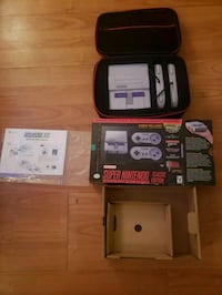 SNES Classic Edition BNIB with Travel Case New  Gatineau, J8T 3S1
