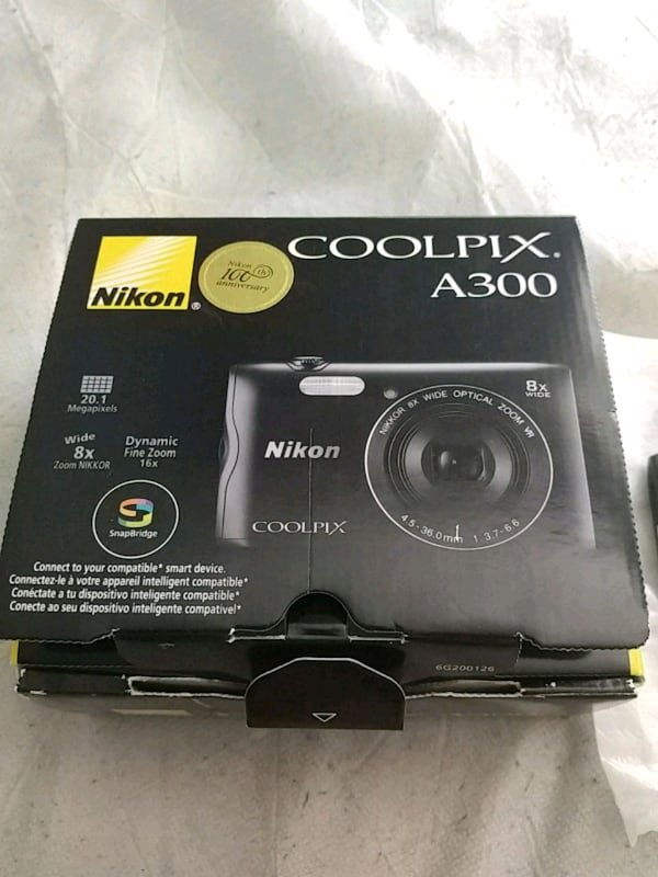 Camera Nikon coolpix a300 with warranty d871925b-bbbc-4025-8660-1ae36ad09fbc