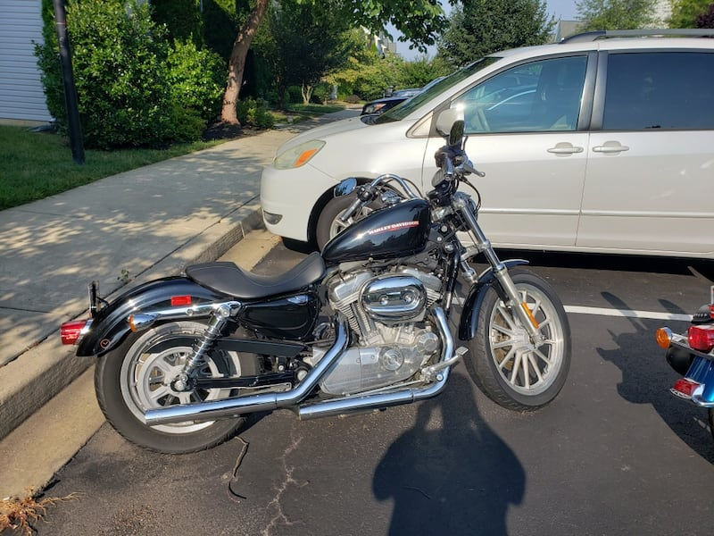 2007 Harley Davidson sportster 883 (fuel injected) 63d4fd6c-1a29-453c-9cf0-bc1ee9e57448