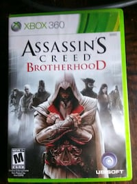 Assassin's Creed Brotherhood Xbox 360 game case Lubbock, 79412