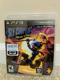 Sly Cooper: Thieves in Time PS3 Game Cary, 27519
