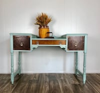 Multi-Level Writing Desk or Vanity Etowah