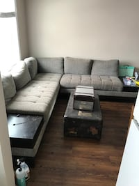 3 Piece sectional with built in end tables Edmonton, T5L 1V4