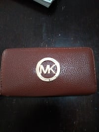 brown MK leather long wallet Hartford, 06114