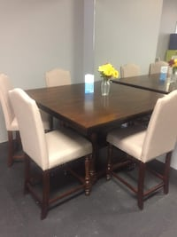 5pc Solid wood Dining set  brand new $699 SALE**NO CREDIT NEEDED** Essex