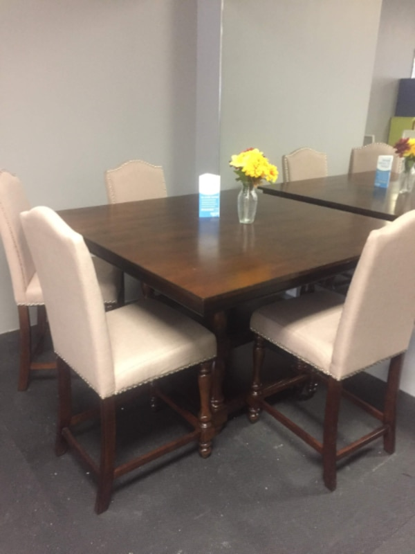 5pc Solid wood Dining set  brand new $699 SALE**NO CREDIT NEEDED**