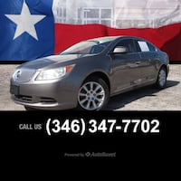 2012 Buick LaCrosse Convenience Houston