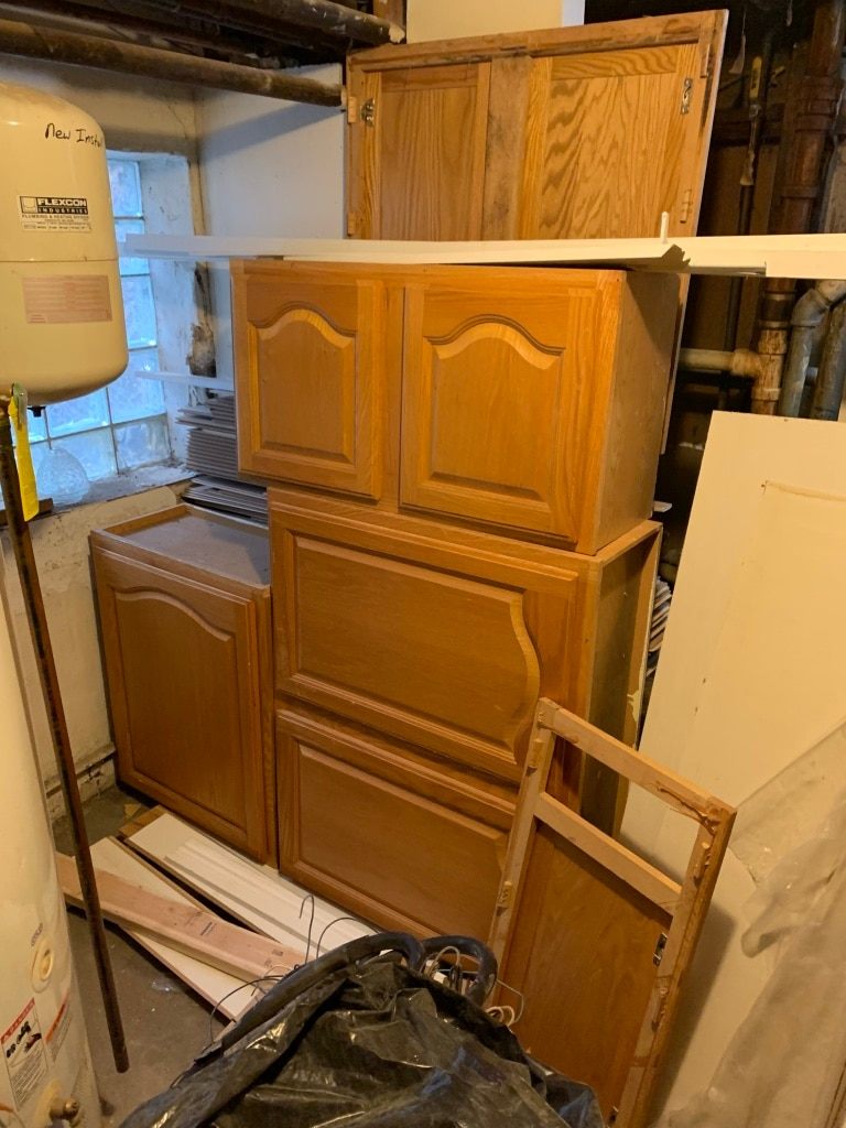 Delicieux Used Kitchen Cabinets. Solid Wood. For Sale In Lyons   Letgo