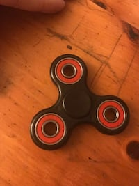 Fidget Spinner- Black and Red