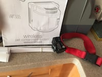 red and b lack Wireless Pet Containment System with user's manual Catlett, 20119
