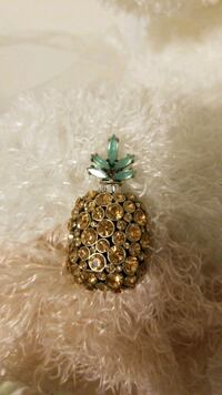 Banana Republic pineapple Brooch Vancouver, V7Y 1G5