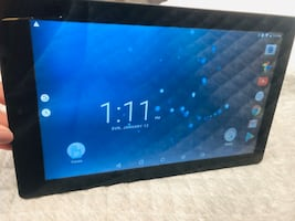 RCA 11 Galileo Pro 2-in-1 tablet with detachable keyboard and case.