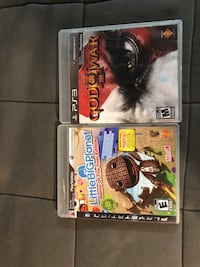 PS3 Games Bradford West Gwillimbury, L3Z 0L1