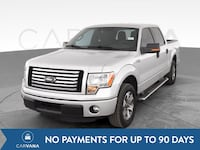 2012 Ford F150 SuperCrew Cab pickup XLT Pickup 4D 5 1/2 ft Silver Baltimore
