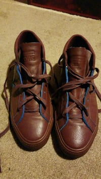 pair of brown leather shoes Silver Spring, 20901
