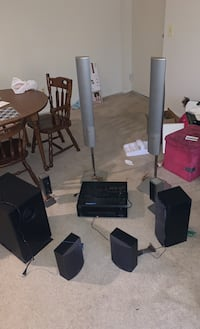 Home theater surround sound and  amplifier speaker Lutherville Timonium, 21093