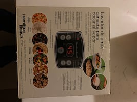 Toaster oven and rice/vegetable cooker brand new! Selling together