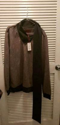 women's brown cardigan 22 km