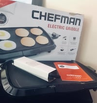 "SALE! CHEFMAN 16"" electric griddle Sacramento, 95826"